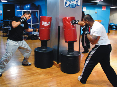 mma training is great for fitness