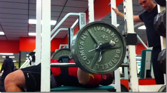 bench press 1 bottom position