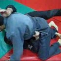 MMA Fighting from Half Guard Bottom Position